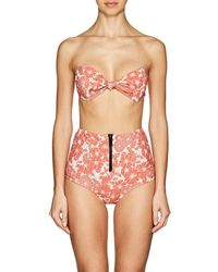 Lisa Marie Fernandez - Poppy Stretch-cotton Bikini - Lyst