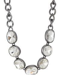 Kenneth Jay Lane - Headlight Necklace - Lyst