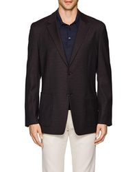 Theory - Simons Nailhead Wool-blend Two - Lyst