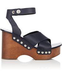 Rag & Bone - Hester Leather Clog Sandals - Lyst