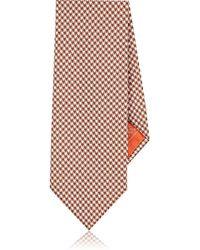 Brioni - Striped Silk Necktie - Lyst