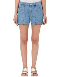 3x1 - Cotton Denim Shorts - Lyst