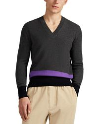 Tomas Maier - Colorblocked Cashmere Jumper - Lyst