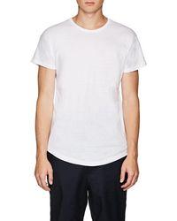Chapter - Slub Cotton-blend Jersey T-shirt - Lyst