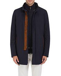 Barneys New York - Tech-fabric Coat - Lyst