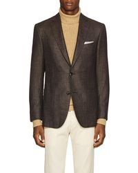 Pal Zileri - Step-weave Wool-blend Two-button Sportcoat - Lyst