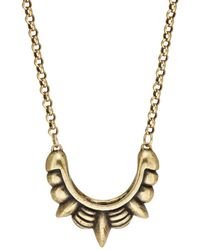 Pamela Love - Small Spike Pendant Necklace - Lyst