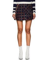Cynthia Rowley - Fringed Tweed Miniskirt Size 6 - Lyst