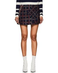 Cynthia Rowley - Fringed Tweed Miniskirt Size 8 - Lyst