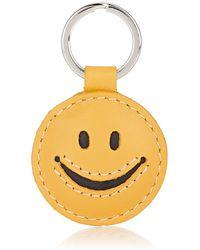Barneys New York Smiley Key Ring