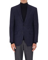 Piattelli - Checked Worsted Wool Two - Lyst