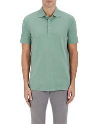 Barneys New York   Cotton Piqué Polo Shirt   Lyst