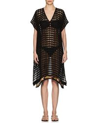 A Peace Treaty - Open-knit Cotton Cover-up Dress - Lyst