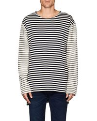 Max 'n Chester - Striped Cotton Sweater - Lyst