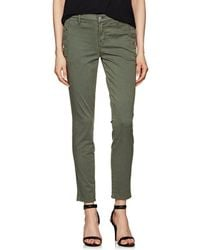 J Brand - Zion Mid-rise Skinny Jeans - Lyst