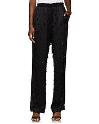 Givenchy - Embellished Silk Satin Pyjama - Lyst