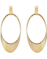 Kenneth Jay Lane - Open Oval Drop Earrings - Lyst