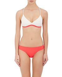 Flagpole Swim - Casey Triangle Bikini Top - Lyst