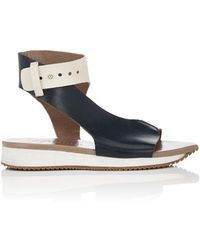 Zero + Maria Cornejo - Ijo Leather Sandals - Lyst
