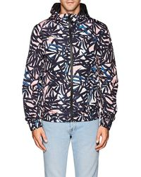Palm print Hooded Jacket Multicolor