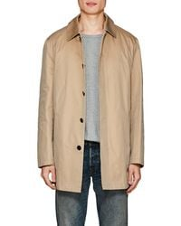Barneys New York - Cotton Trench Coat - Lyst
