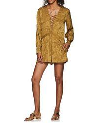 IRO - Galt Paisley Silk Romper Size 38 - Lyst