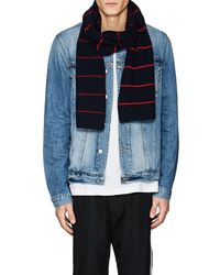 Barneys New York - Striped Wool - Lyst