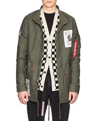 Alpha Industries - French Kiss Tunnel Cotton Fishtail Parka - Lyst