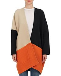 Zero + Maria Cornejo - Manon Colorblocked Cotton Coat - Lyst