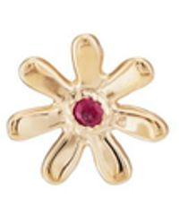 Barneys New York Ruby Daisy Stud Earring - Metallic