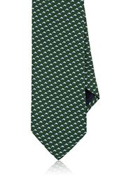 Barneys New York - Dolphin-print Silk Necktie - Lyst