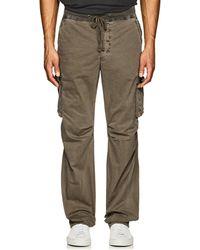 James Perse - Cotton Cargo Pants - Lyst