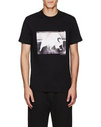 Blood Brother - Bull Cotton T-shirt - Lyst