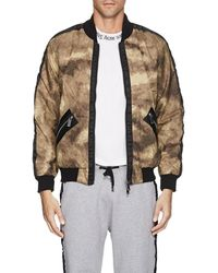 Blood Brother - Camouflage Cotton Bomber Jacket - Lyst