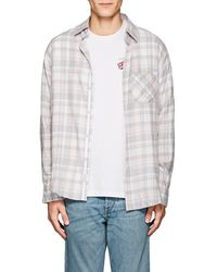 Rag & Bone - Checked Cotton Flannel Fit 3 Shirt - Lyst