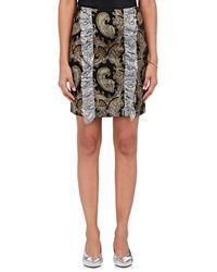 Jourden - Paisley Chenille Miniskirt - Lyst