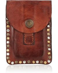 Campomaggi - Leather Flap Pouch - Lyst