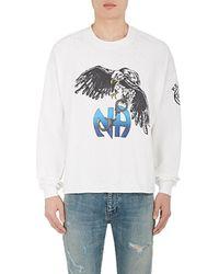 Enfants Riches Deprimes Eagle-graphic Cotton Long-sleeve T-shirt
