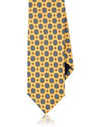 Barneys New York - Floral-medallion Silk Faille Necktie - Lyst