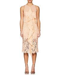 Proenza Schouler - Lace & Chiffon Cocktail Dress - Lyst