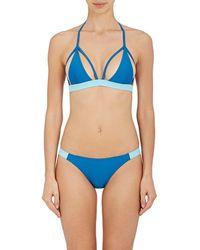Chromat - Outlined Bikini Top - Lyst
