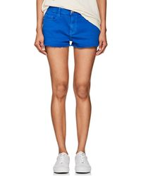 Current/Elliott - Mid-rise Denim Shorts - Lyst