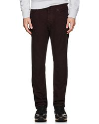 J Brand - Kane Brushed Straight Jeans - Lyst