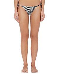 Solé East - Cali Striped String Bikini Bottom - Lyst