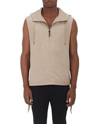 Robert Geller - the Henry Hooded Vest - Lyst