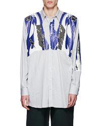 Vetements - Motocross-graphic Cotton-blend Oversized Shirt - Lyst