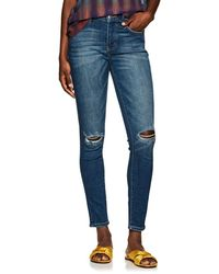 Current/Elliott - The High Waist Ankle Jeans - Lyst