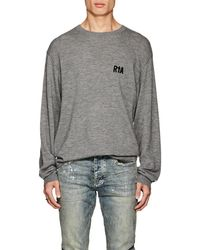 RTA - Embroidered Cashmere Sweater - Lyst