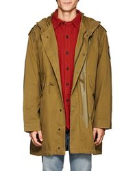 Zadig & Voltaire - Bruce Cotton Military Parka - Lyst