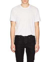 James Perse - Cotton Jersey Oversized T - Lyst
